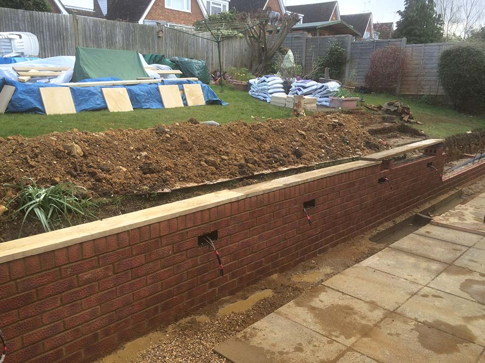 APW Building Services Hard Landscaping in Harpenden