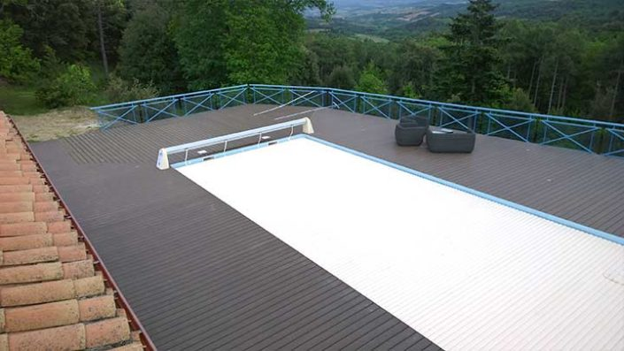 Hertfordshire swimming pool and decking company